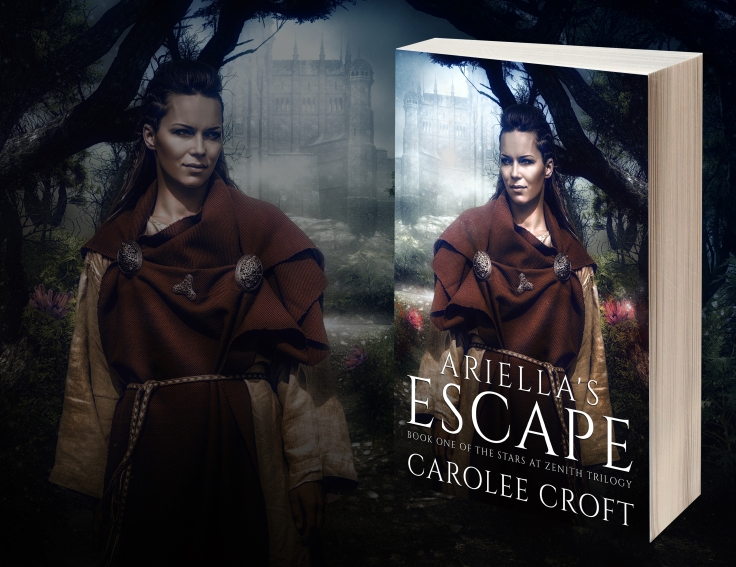 Ariella's Escape 3D Image of Book Cover